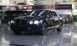 行业新闻:17款宾利飞驰白色黑色全部现车最新报价