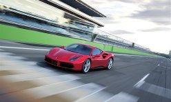 汽车百科:红色保时捷911 Carrera4S改装Vorsteiner轮毂