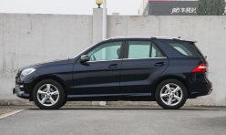 汽车百科:准新车奔驰ML级 ML400 [进口] 2014款二手车评估要多少钱?