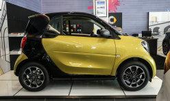 汽车百科:试驾smart 1.0L敞篷版 天生就是萌萌哒