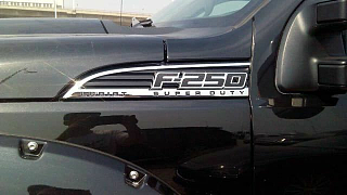 福特F250 15款 6.7 柴油 改装
