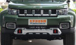 头条资讯:配5速手动变速箱 北京40 2.4L手动远行版报价及图片